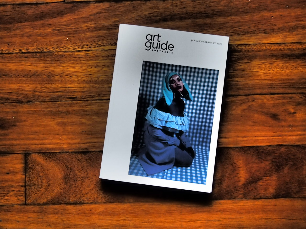 Atong Atem on the cover of Art Guide