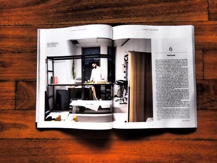 Tom Blake in Art Collector, Issue 91, Jan-Feb 2020